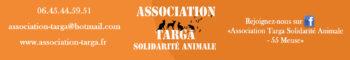 Association Targa - Solidarité Animale - 55430 - Belleville-sur-Meuse